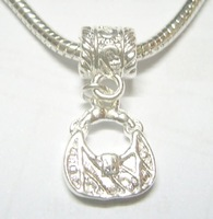 Free Shipping 10pcs/lot Silver Pendant Fit Charm Bracelet Necklace PD17