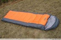 (Free Shipping)envelope sleeping bag with Ridge hood ,camping , sleeping bag,Blankets,quilt