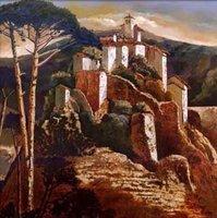Landscape oil painting ,Venice Landscape, Hot,Contemporary Art (Hand painted canvas art )Venice-012