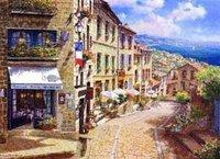Landscape oil painting ,Venice Landscape, Hot,Contemporary Art (Hand painted canvas art )Venice-029