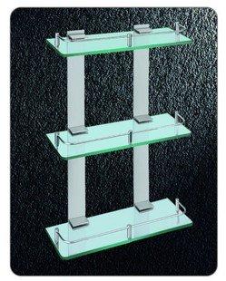 Triplo cremalheira Nível Vidro, Alumínio Aerospace Duche Rack, 3350,1 pedaço / lote, transporte livre(China (Mainland))