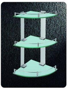 Nível Triplo cremalheira Triângulo Vidro, Alumínio Aerospace Duche Rack, 3250,1 pedaço / lote, transporte livre(China (Mainland))