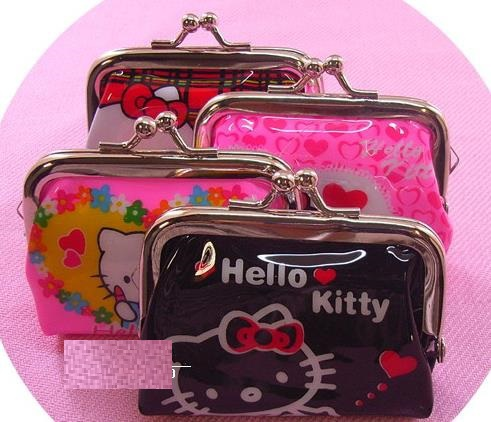 High Fashion Hello kitty Girls' Coin Purse Wallet Party Favor/ Change Purse / Beauty Case / Cosmetic Bag/ Fashion wallet(China (Mainland))