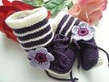 Handmade Baby Infant Shoes first walking boot shoes 30pc/lot