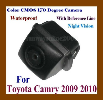 CAR REAR VIEW REVERSE BACK COLOR CMOS/NIGHT VISION/WATERPROOF/WITH REFERENCE LINE CAMERA FOR TOYOTA CAMRY 2009 2010 CAMRY 09 10