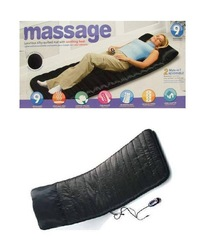 FREE SHIPPING! WALT-MART 9 points vibration Massage mattress,heat pad,Heating pad,(China (Mainland))