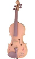 SFLVN-3 colorful violin, with  spruce top, marple back and sides, solid figerboard and pegs