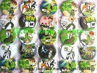 Wholesale - 48pcs BEN 10 Badge Button Pin 4.5CM party favor Free Shipping