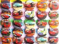 Wholesale - 48pcs CAR Badge Button Pin 4.5CM party favor Free Shipping