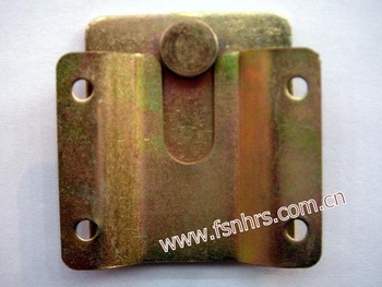 color zinc plated furniture connector for sofa and sectional furniture