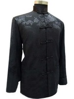 Traditional Oriental men's dragon clothing jacket/coat SZ:M-3XL