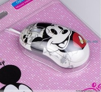 Cartoon USB Mouse Hello Kitty with Mouse pad retail individual package