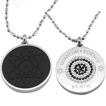 DHL UPS Free-shipping 2011 new design Scalar energy pendant Quantum Science  necklace Iava balance the energy field GX515wb