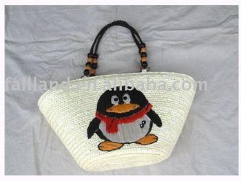 Cute Girl straw handbags wholesale