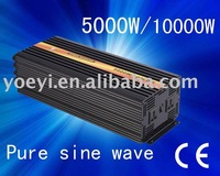 Factory straight sell 5000w solar power inverter/off grid inverter/Frequency inverter/Pure sine wave inverter(DC12V to AC230V)