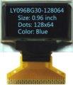 Free shipping 0.96 inch 128x64 Internal DC/DC OLED screen