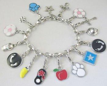 FASHION BRACELET Charm bracelet chain bracelet W/ charms