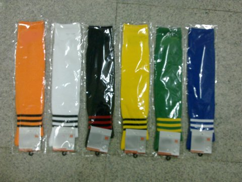 Free shipping ! The new season best quality All kinds of soccer cotton sock,soccer sock + 1 gifts(China (Mainland))
