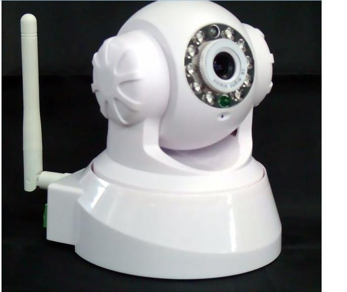 WIFI network ip camera,security cctv cmos camera +Free Shipping+wholesame and retail(China (Mainland))