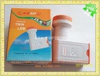 Universal Ku-Band Twin LNBF, Ku-band Dual Polarization LNBF, Low Noise, Drop Shipping
