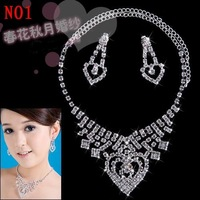 <WFSM>Free shipping.necklace,ear stud,wedding accessories  evening gown.wedding dresses.
