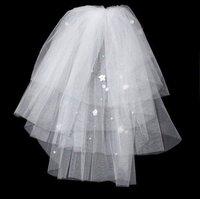 Free shipping wedding dress veil Ivory white veil short veil bridal dress veil top quality