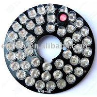 Free Shipping 48 LEDs 5mm Infrared IR For Camera IR Bulb 940nm Led Panel  LI06
