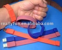 4GB wristband usb flash disk, wrist-band USB,silicone wristband usb flash drive,wristband usb drive