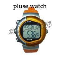 2pcs/lot Calorie Burned Heart Rate Pulse Sport Watch Wrist watch freeshipping Wholesales!