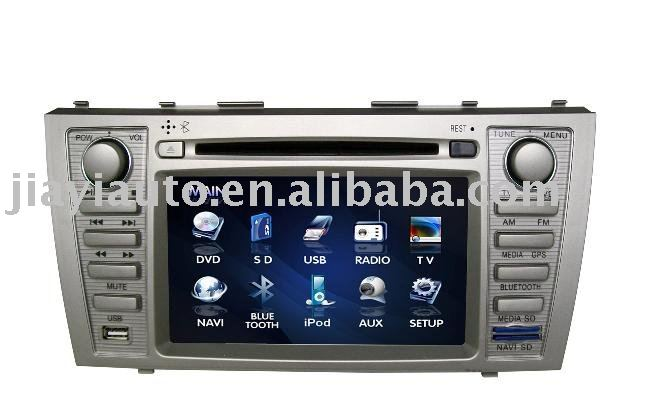 Special car DVD GPS DVB-T for Toyota Camry with SD card map ,7inch TFT digital panel(China (Mainland))