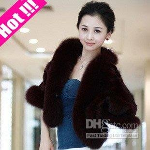 Shawls with Fox Hot Sale,New Arrival,High Quality,Fasy Shipping,100% Genunie Mink Fur Fashion Lady&#39;s(China (Mainland))
