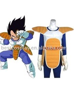 Dragon Ball Vegeta Cosplay Costume free shipping