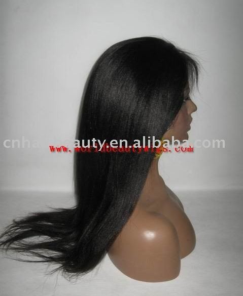 "(free shipping&discount)quanlity Brazilian wig18"" yaki natural color(China (Mainland))"