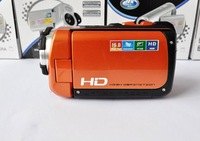 "Orange FULL(HD) 1080P 16.0MP Waterproof DV hdv camcorder 3.0""TFT 4x Zoom"