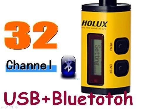 China Post Free Shipping! Holux M-241 Bluetooth GPS Receiver + Data Logger Navigation Track X 10(China (Mainland))