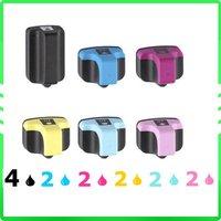 14x Ink Cartridge for PRINTER HP 02 Photosmart 3110 3210 3310 8230 8250 c7200 c5180 c7250 c6180 c7180 d7360 d7460