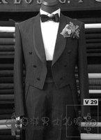Men's Wedding Dress Groom Wear Bridegroom suits  Groom Tuxedos( jacket+pants+tie+vest )