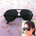 Brand New Black Pinhole Glasses Eyesight Vision Improve Glasses Eyes Exercise Glasses  Eye Care Glasses Health Care Glass