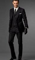 Men's Complete Designer Bridegroom Wedegrom Wedding Prom Suits/Groom Tuxedos(Jacket+pants+tie+vest)