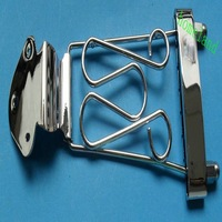 Best shipping high quality chrome Bass Trapeze Tailpiece Wired Frame for Guitar