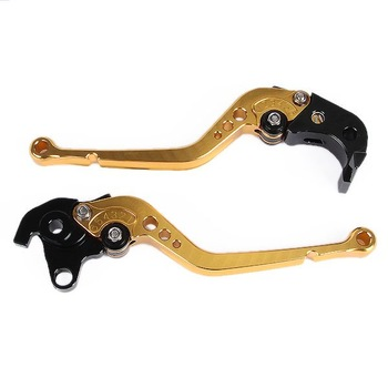 Free shipping Golden Brake Clutch Lever For Honda CBR 1000RR Fireblade 04-07 CB1000R 08-09