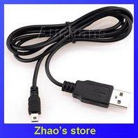 100pcs/lots USB Mini 5 pin cable for MP4 MP3 Digital,USB Cables