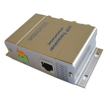 4 CH Passive UTP Video Balun,4 CH Video or 3 CH video and 1 CH data,Color 400m,B/W 600 m