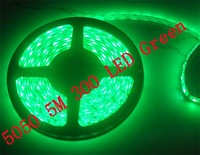 5050 5M green 300 SMD LED Strip Light