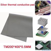 Wholesale  10 pcs/lot thickness 0.5MM VGA CPU Chipset Thermal conductive Pad Grease heatsink