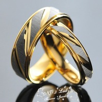 Stainless Steel Jewelry Sets, Korean Couples Rings Jewellery Engagement, his and hers promise,Wholesale&Free Shipping,WR005