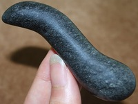 Black Obsidian Stone Relaxing Health Wand Body Massagist Massage, Free Shipping