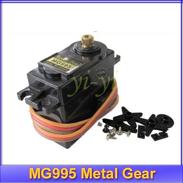 Tower pro 48g Metal gear Servo MG995 for RC helicopter plane boat car free shipping(China (Mainland))