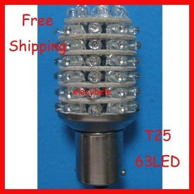 EMD DHL Free S25 T25 BA15S 1156 63 LED Tail Lights LED Brake Light LED Car Lights LED Corner Lig ...