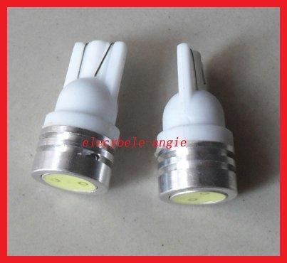 100pc/lot 194 168 W5W White Blue T10 LED Car Auto Lights LED Corner Bumper Bulb LED Signal Light ...